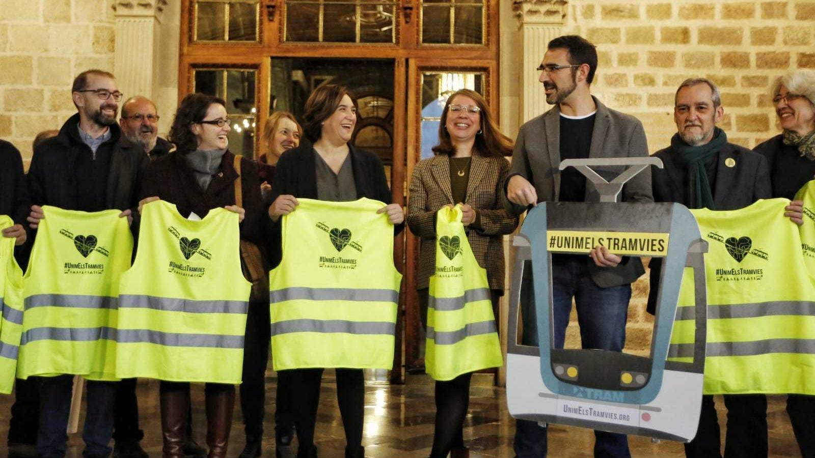 Barcelona avala el tramvia per la Diagonal