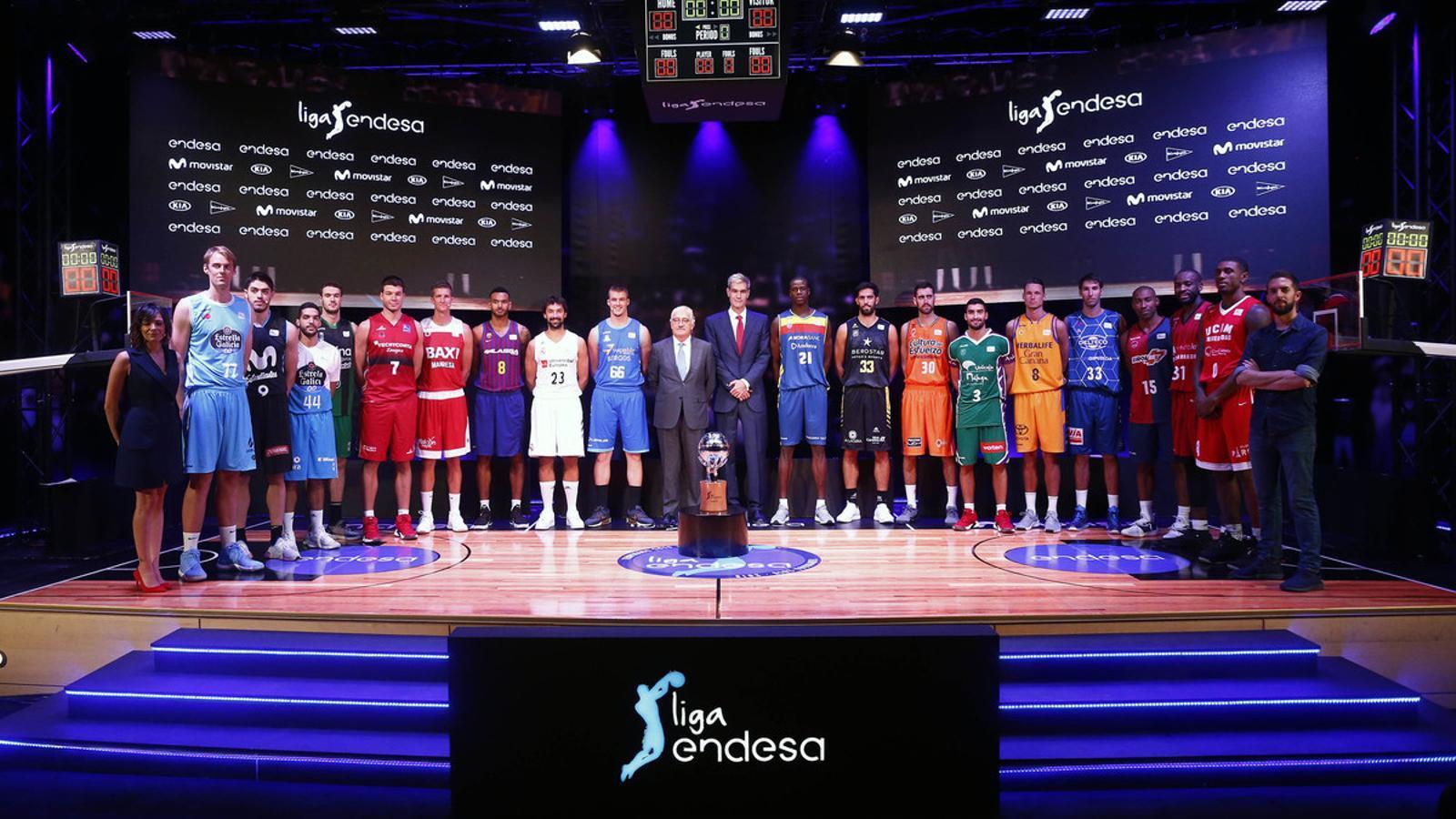 Els jugadors de tots els equips