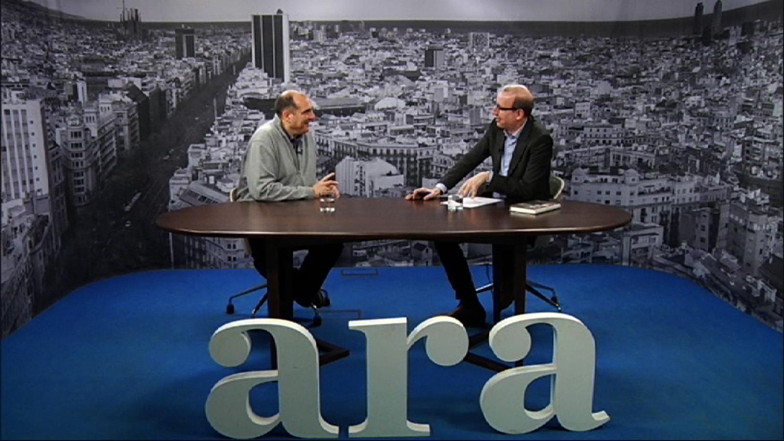 Entrevista d'Antoni Bassas a Xavier Bosch