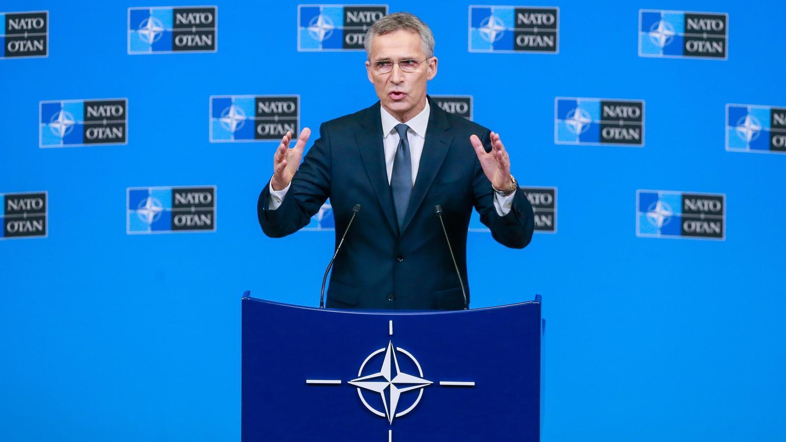 El secretari general de l'OTAN, Jens Stoltenberg.
