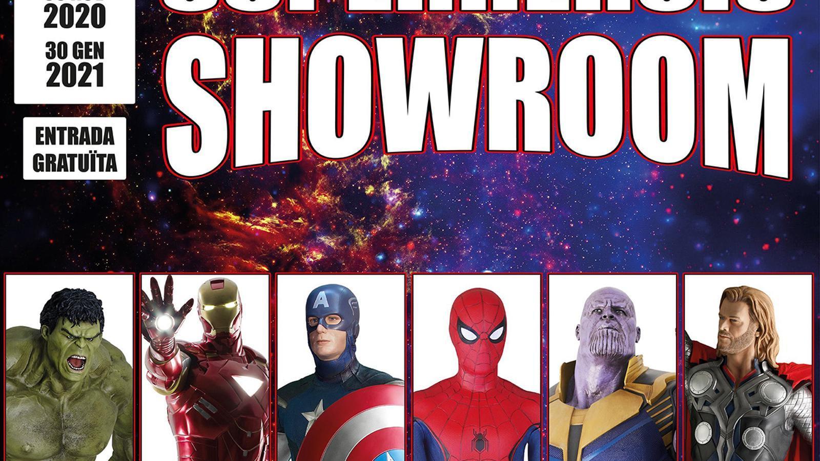 El CAEE inaugura una col·lecció privada sobre l'univers dels superherois / CAEE