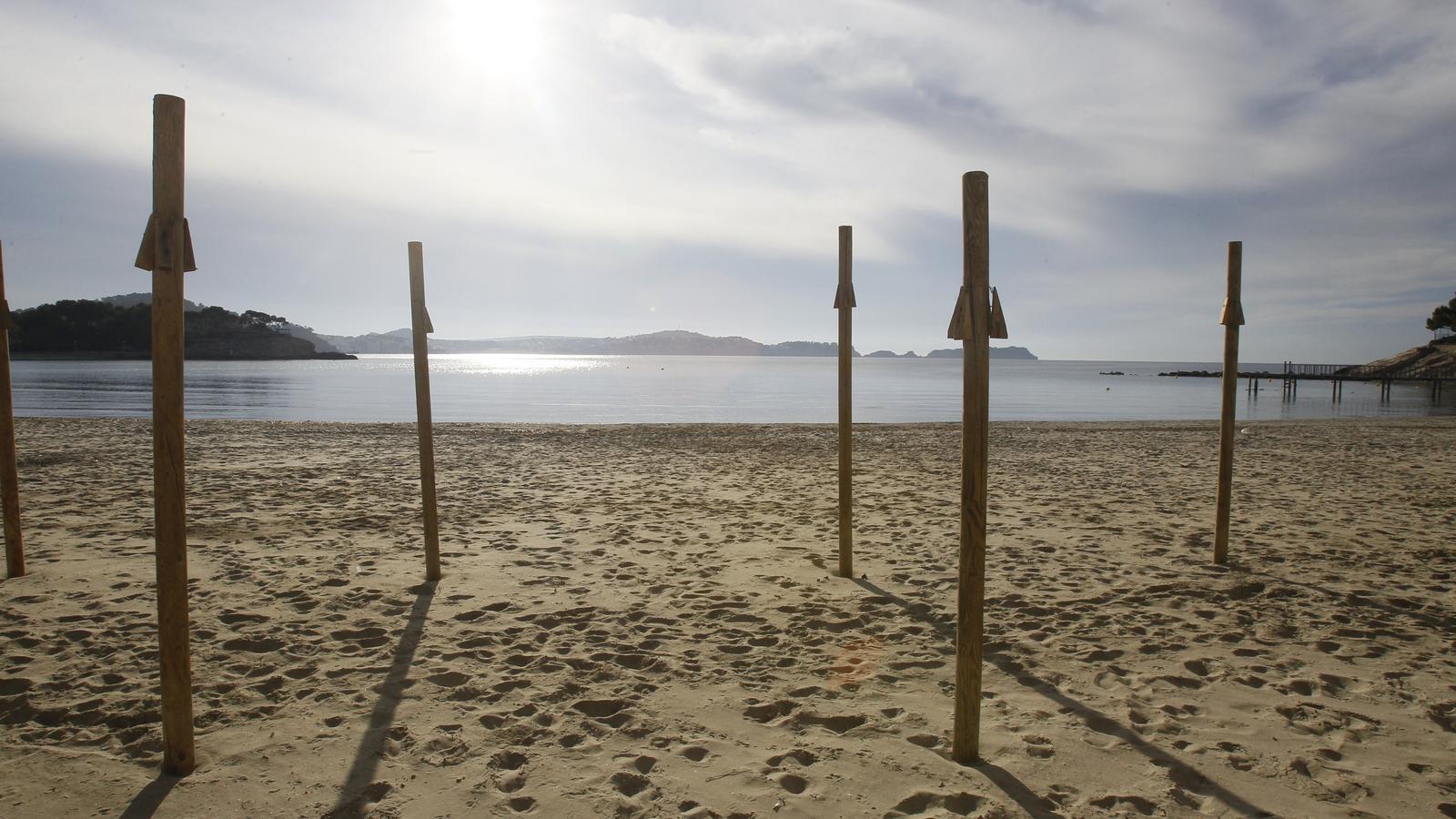 La platja de Palmira en una imatge d'arxiu.