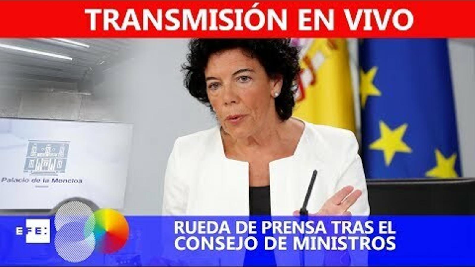 EN DIRECTE: El consell de ministres dona llum verda a l'exhumació de Franco
