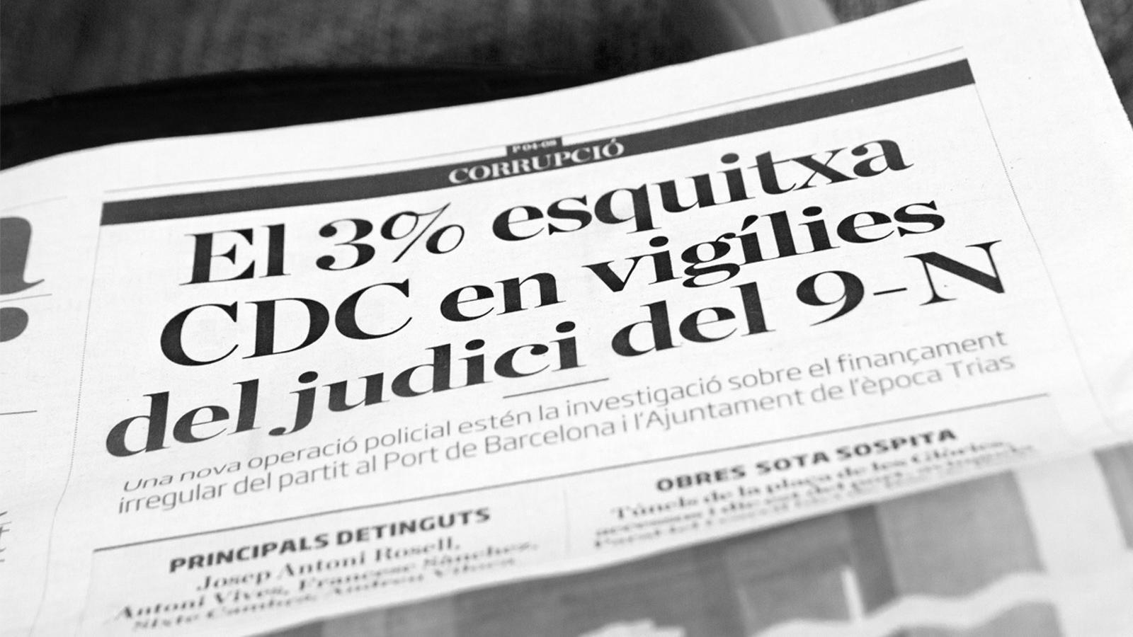 L'anàlisi d'Antoni Bassas: 'Acabar amb la corrupció'