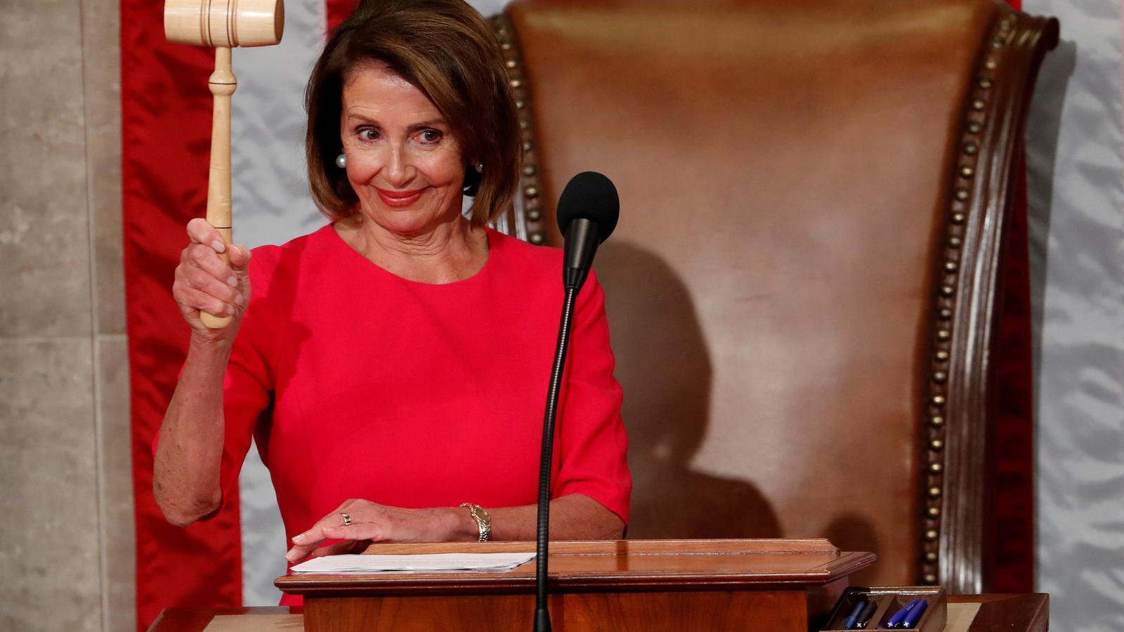 La demòcrata Nancy Pelosi lidera la cambra baixa dels Estats Units