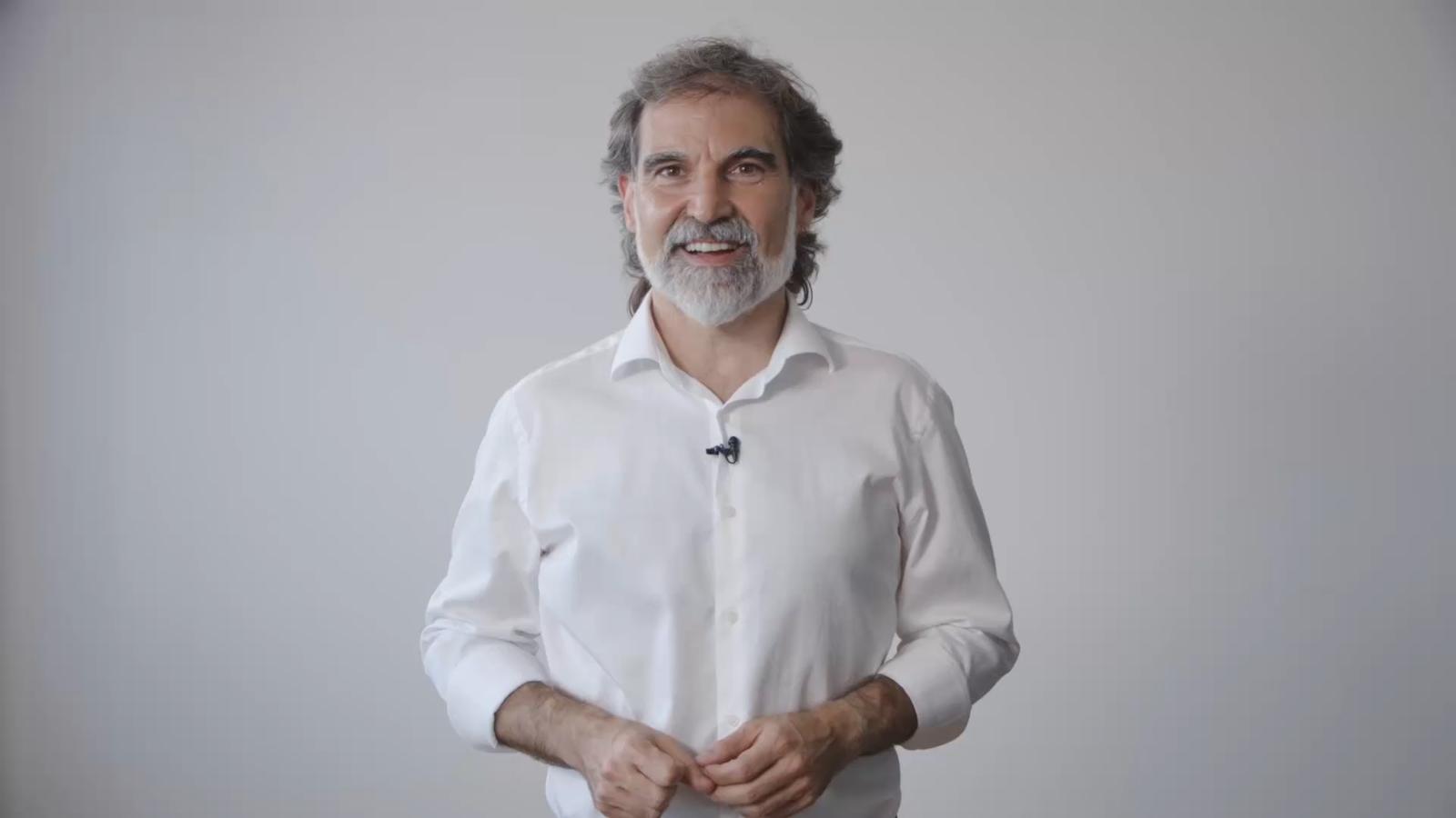 Vídeo de Jordi Cuixart des de la presó de Lledoners