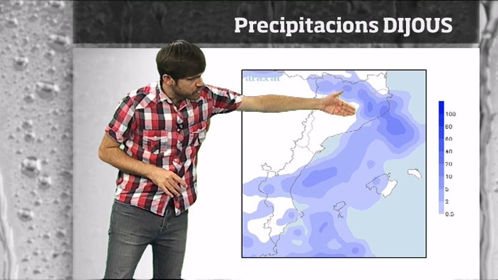 La méteo en 1 minut: tempestes i ambient fresc