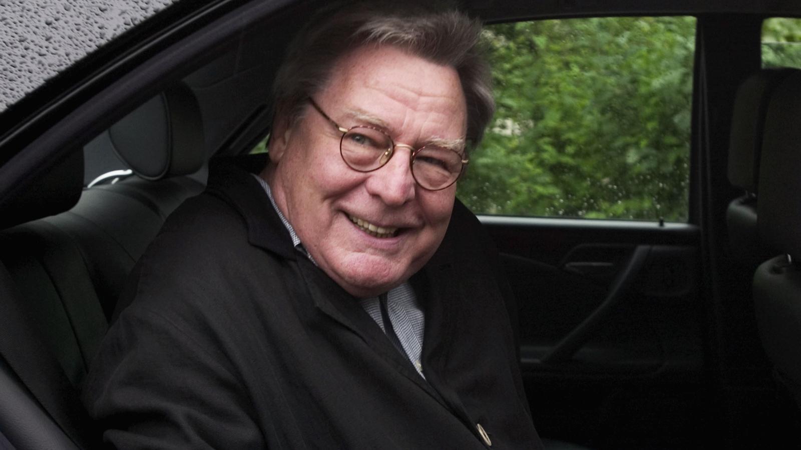 El director Alan Parker en una imatge d'arxiu
