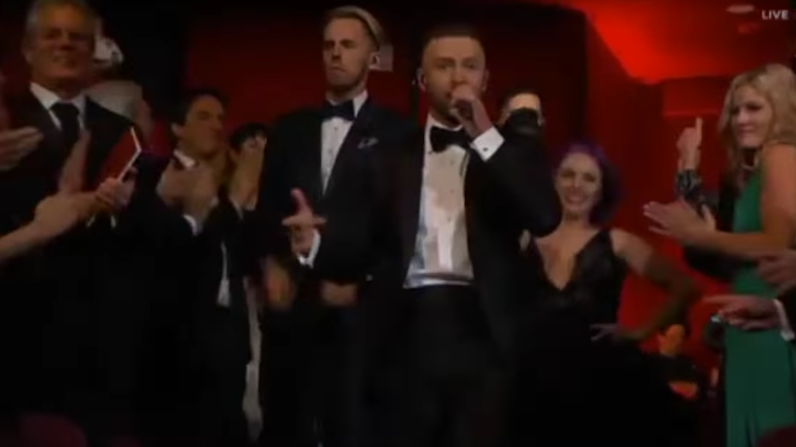 'Can't stop the feeling' de Justin Timberlake (Oscars 2017)