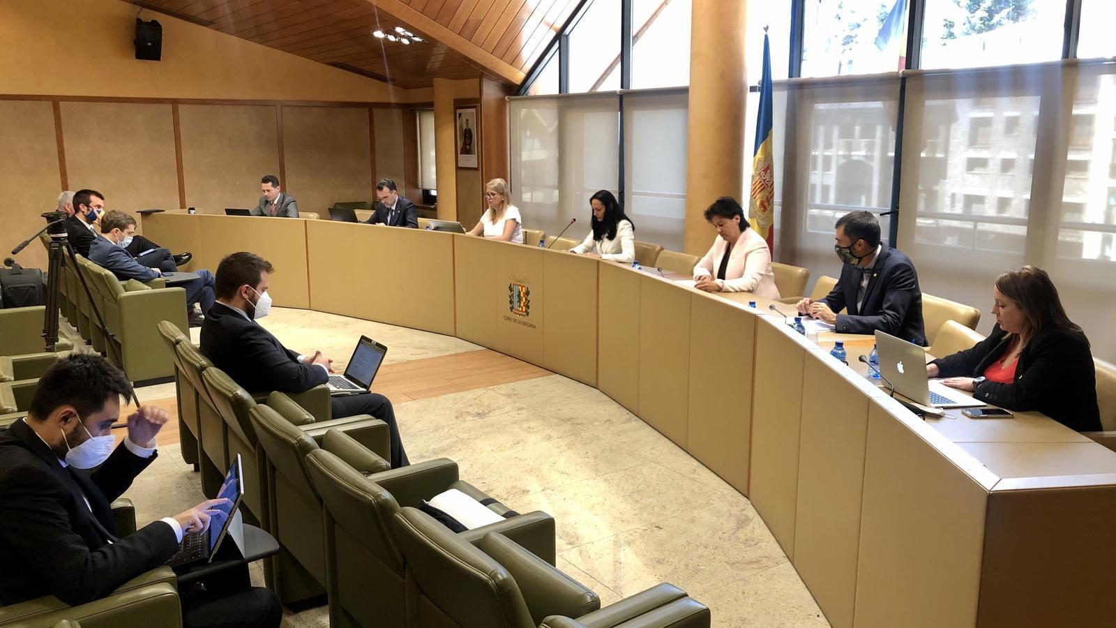 Sessió de consell de comú de la Massana. / COMÚ DE LA MASSANA