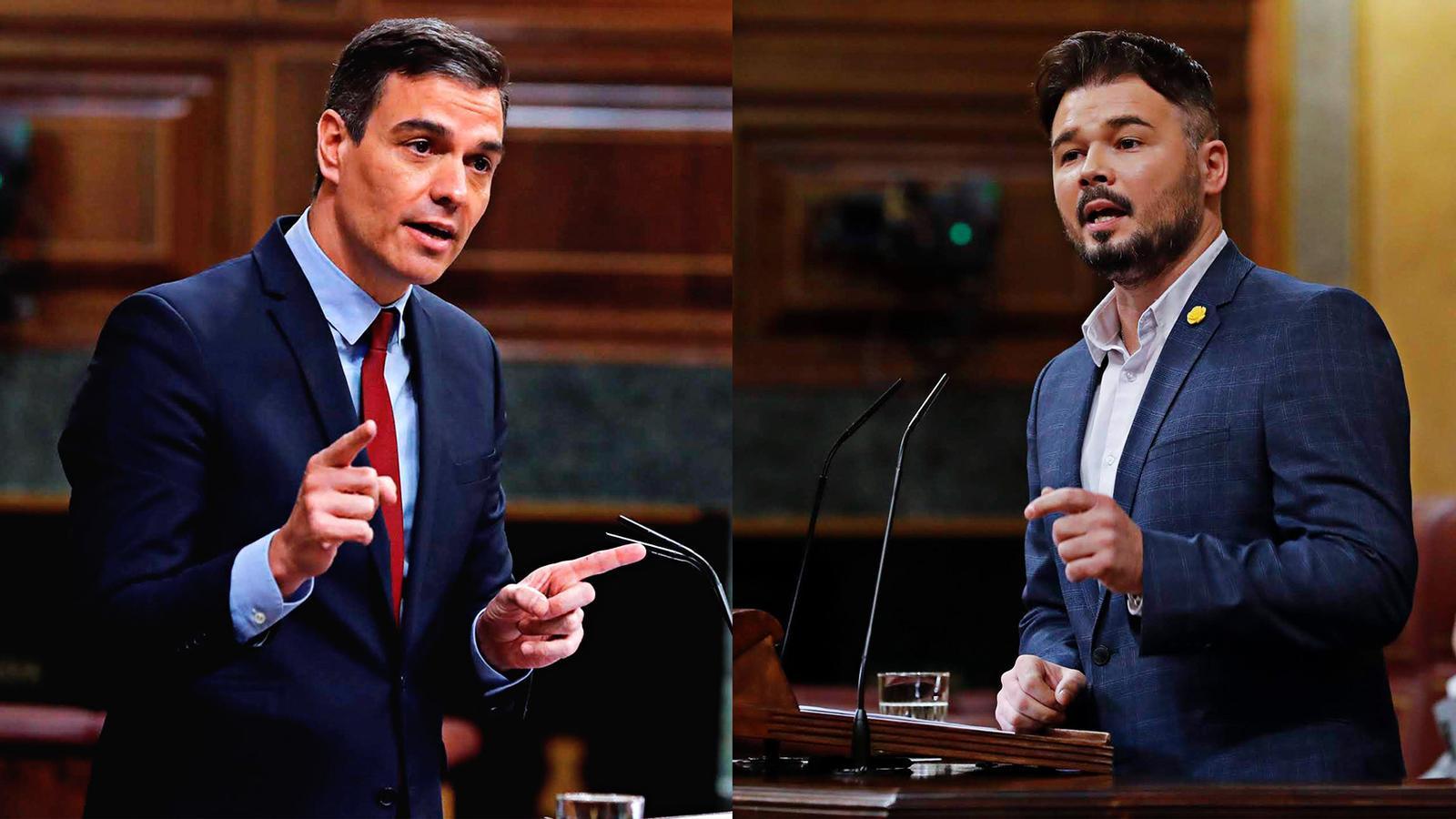 Rufián diu a Sánchez que posa en perill l'esperit de la legislatura i Bargalló avisa d'emergència educativa de cara al curs que ve: les claus del vespre amb Antoni Bassas (20/05/2020)