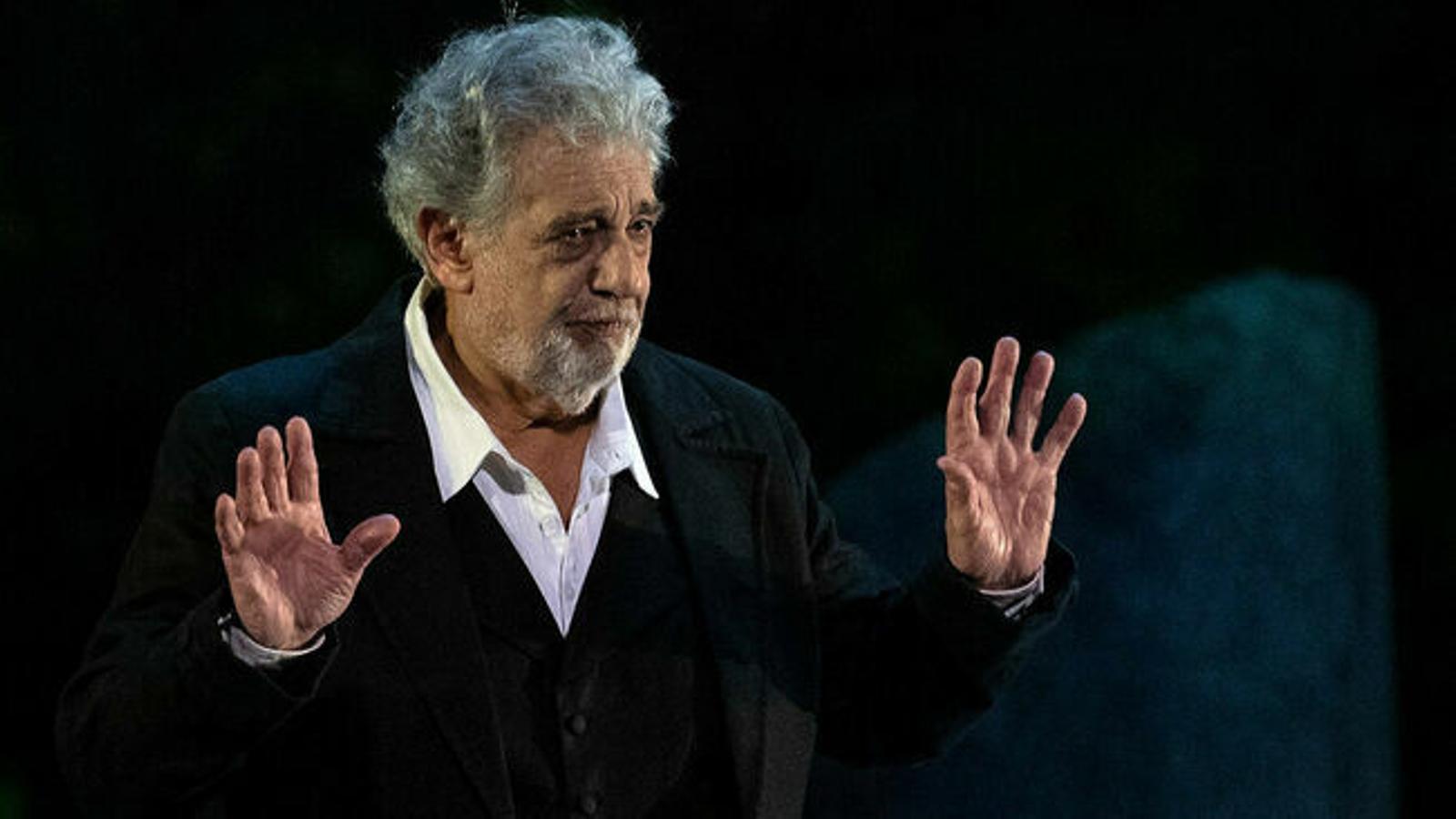 El tenor Plácido Domingo / AFP