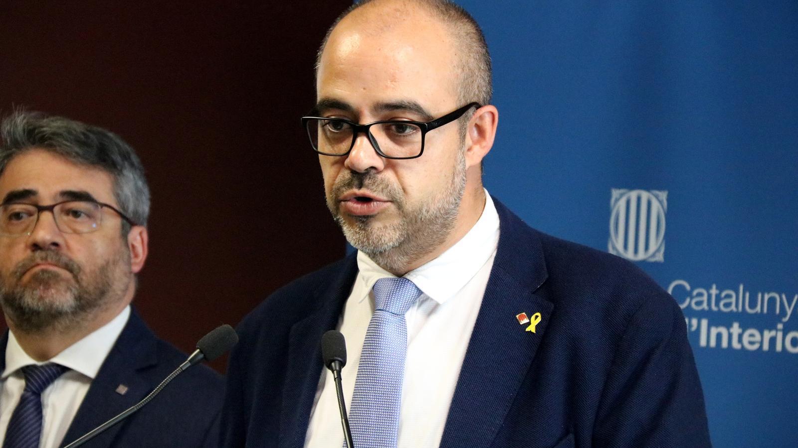 El TSJC reprèn la causa per desobediència contra Buch i Lloveras per instar els alcaldes a donar suport a l'1-O