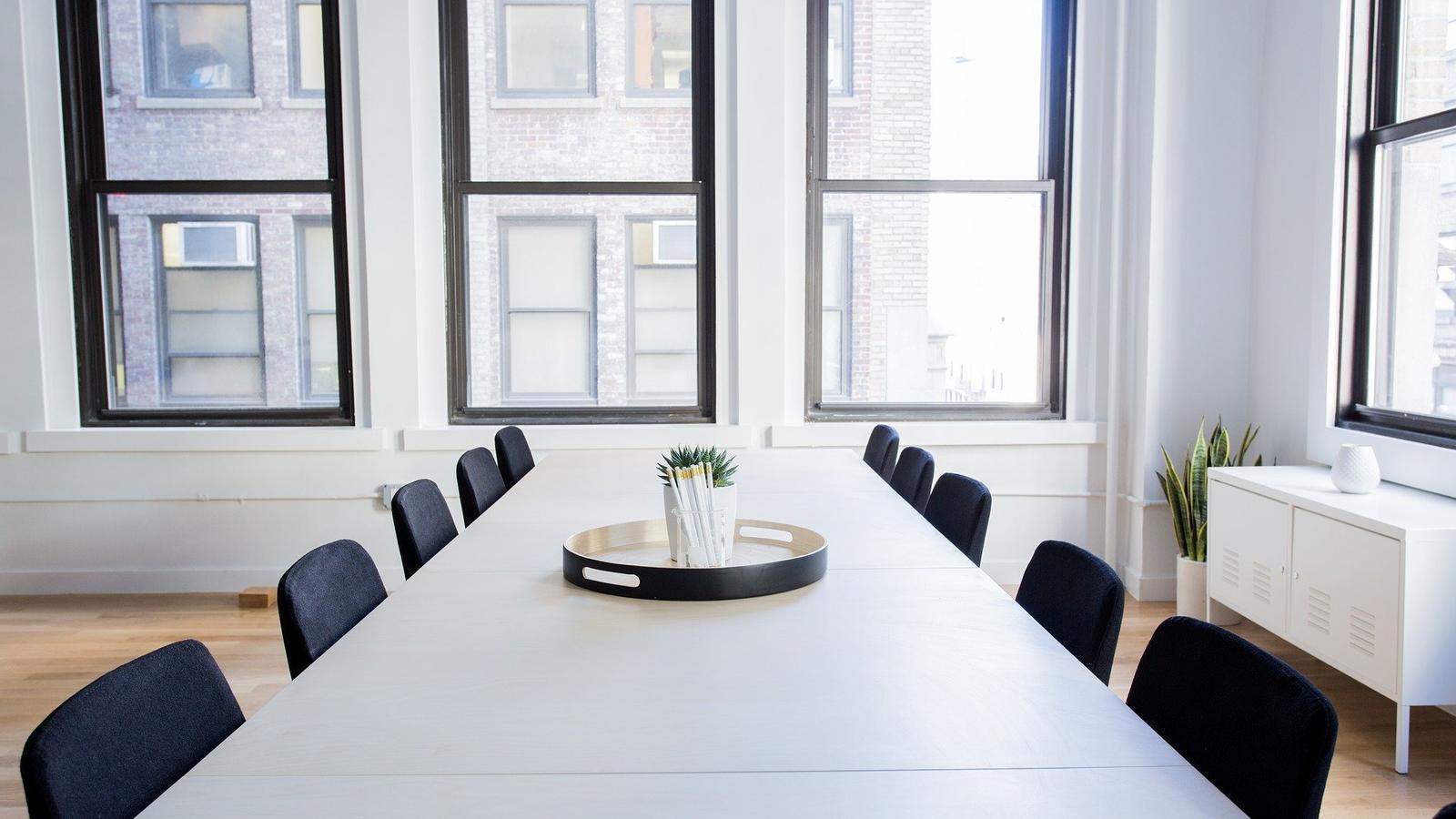 Una sala de reunions. / PIXABAY