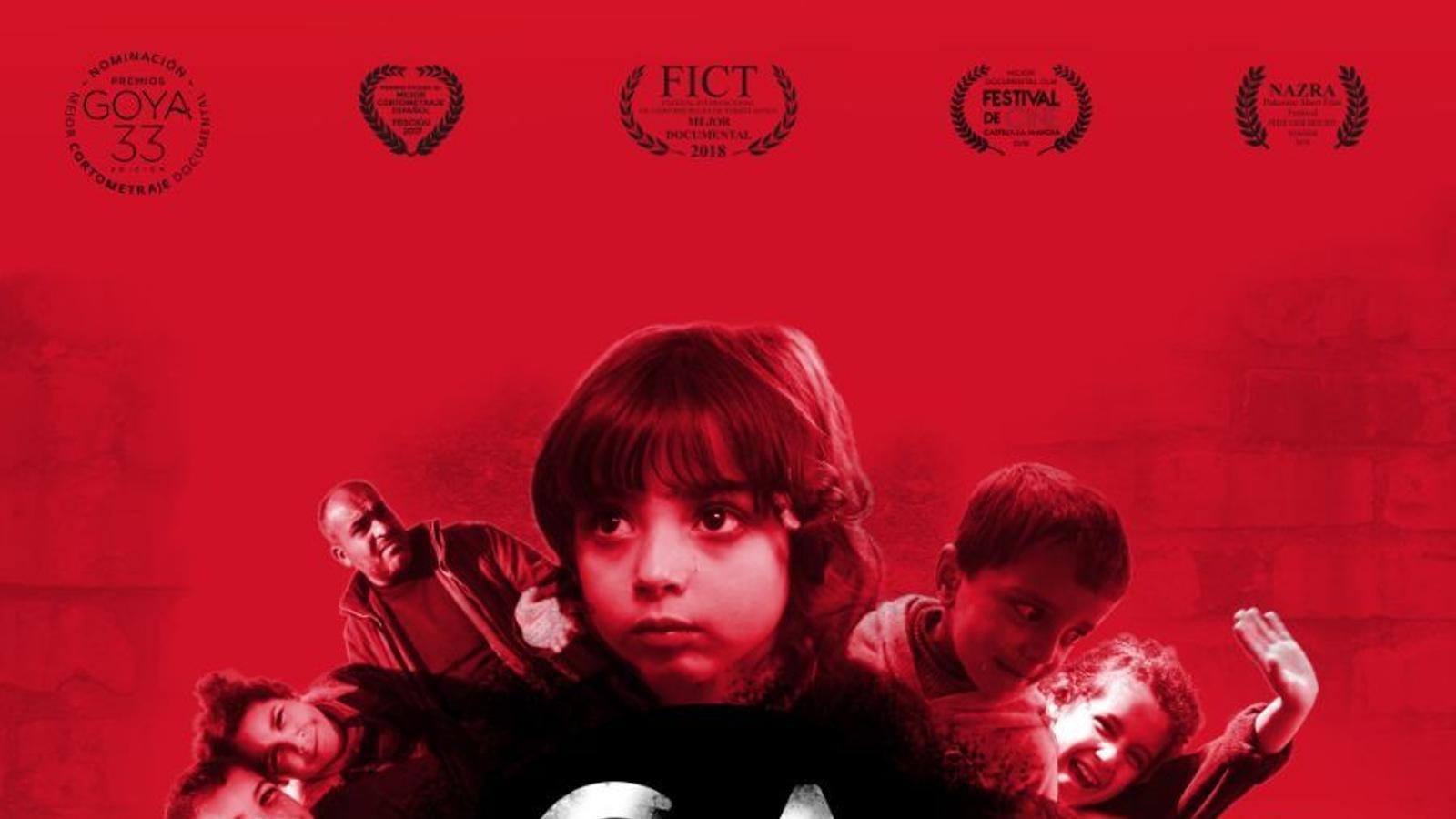 """Cartell del curtmetratge """"Gaza"""""""