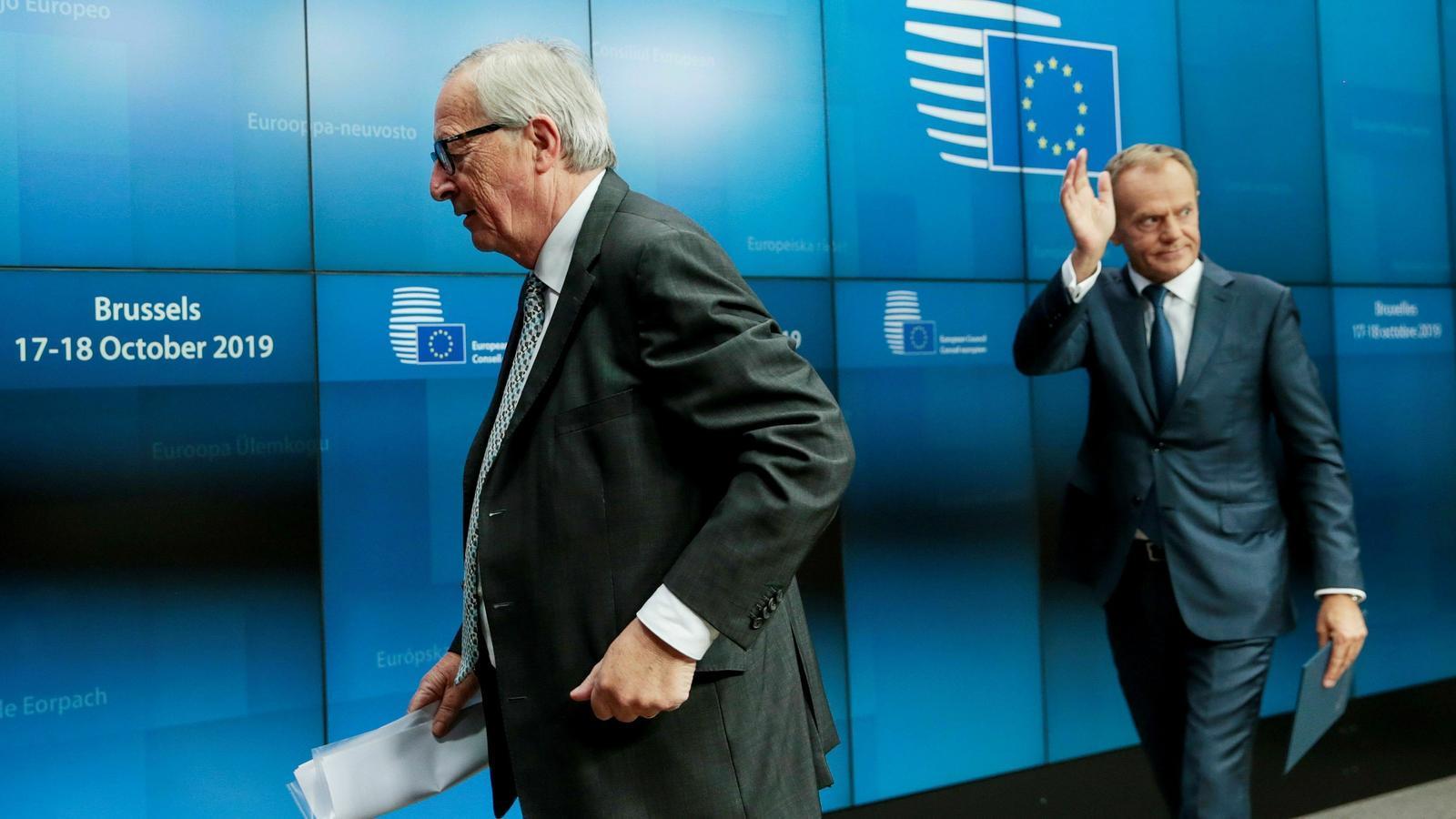 """Juncker sobre el Brexit: """"Ha estat una pèrdua de temps i d'energia"""""""