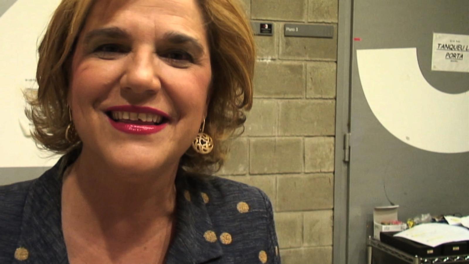 """Pilar Rahola: """"Estarem tots junts cantant contra la sida"""""""