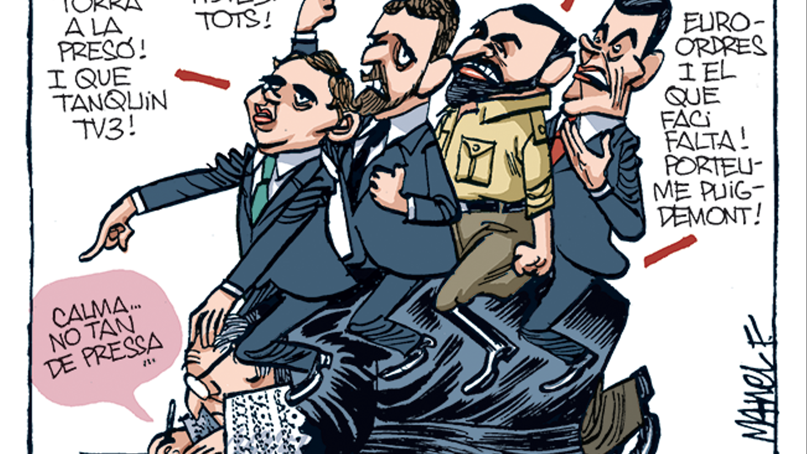 La vinyeta de Manel Fontdevila 08/11/19