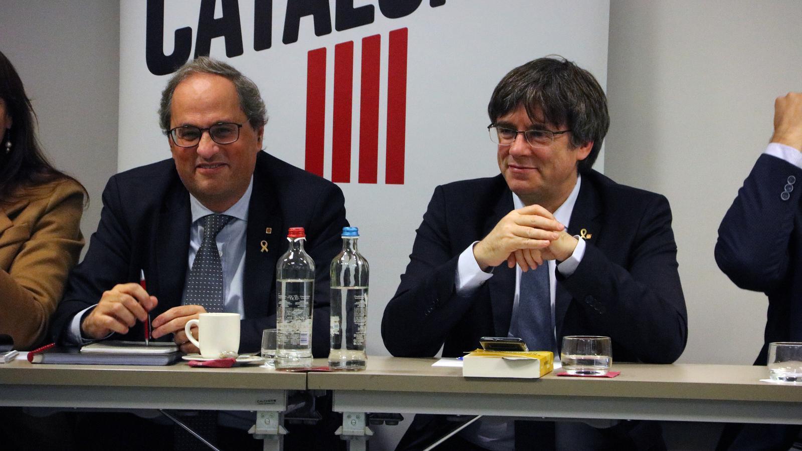 JxCat s'obre a presentar Puigdemont a unes eleccions catalanes si el TJUE li reconeix la immunitat