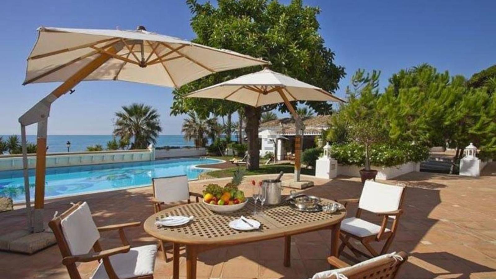 Imatge del xalet més car d'Espanya, situat a la Costa del Sol.