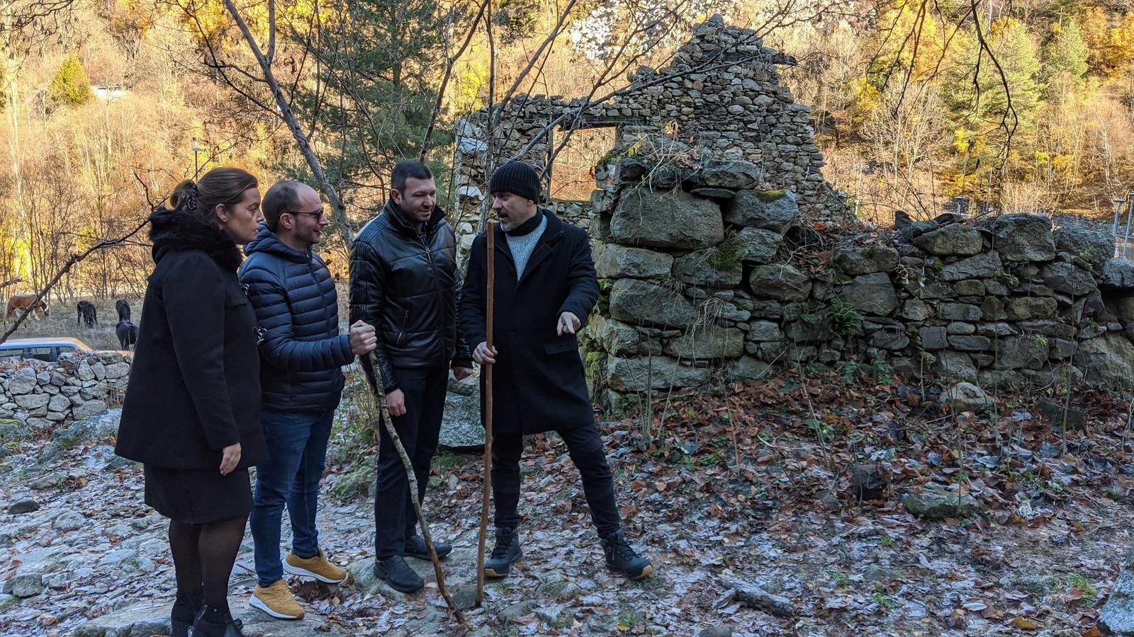 UxEE ha presentat a la Vall del Madriu-Perafita-Claror els seus punts del programa electoral referents al turisme. / UxEE