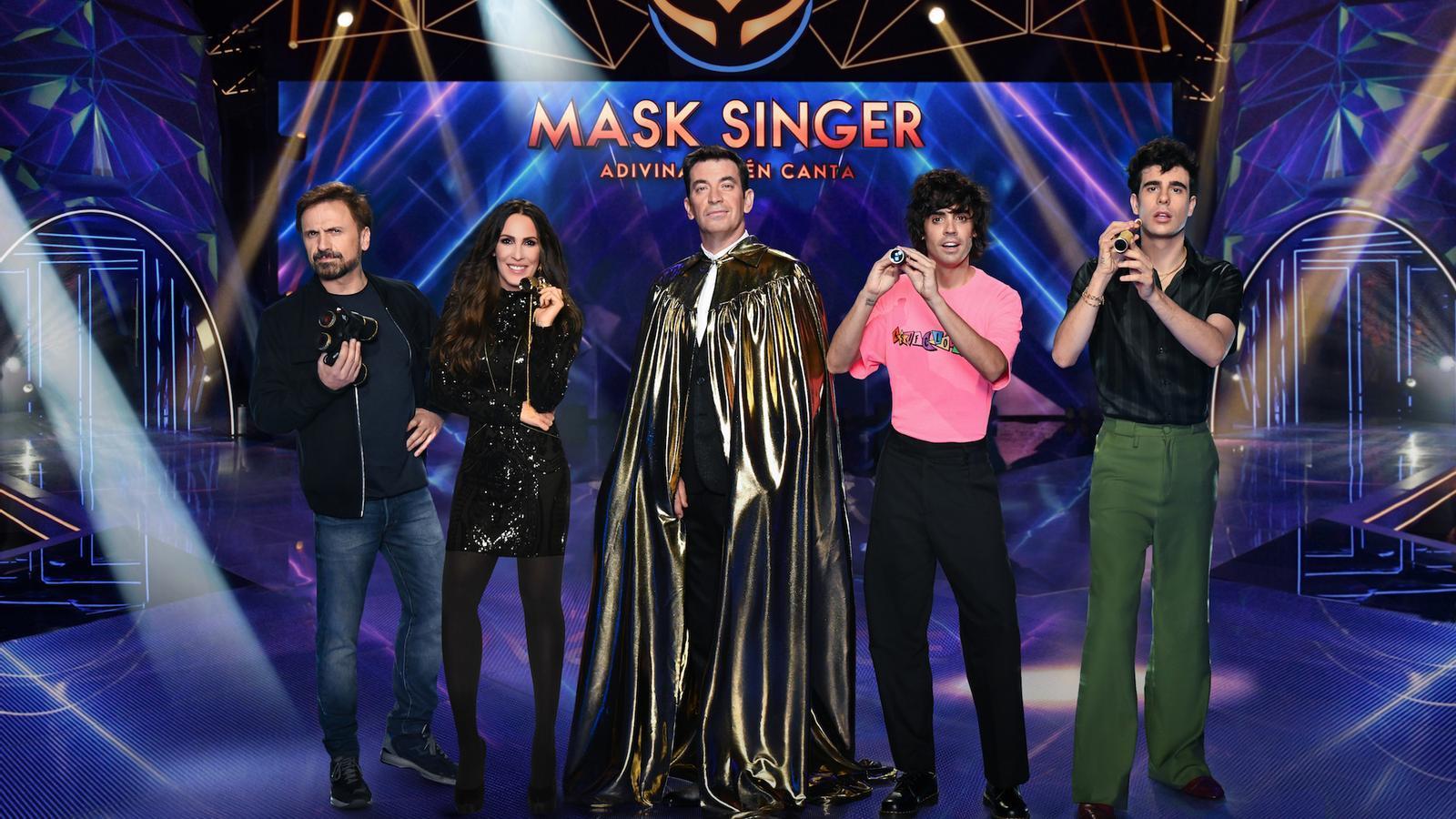Els cantants disfressats de 'Mask singer' desembarquen a Antena 3