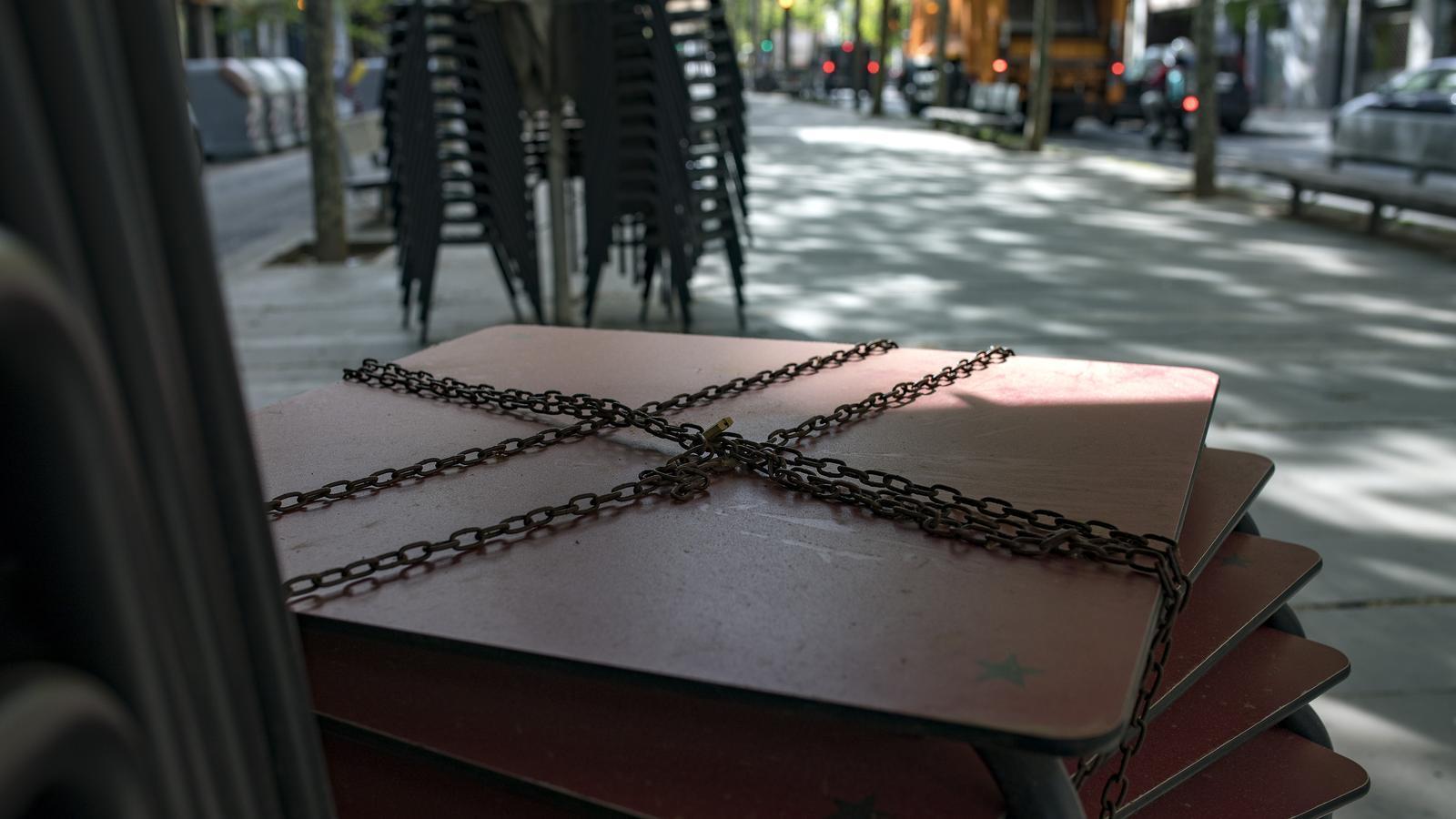 Un local tancat al Barri de Sant Andreu