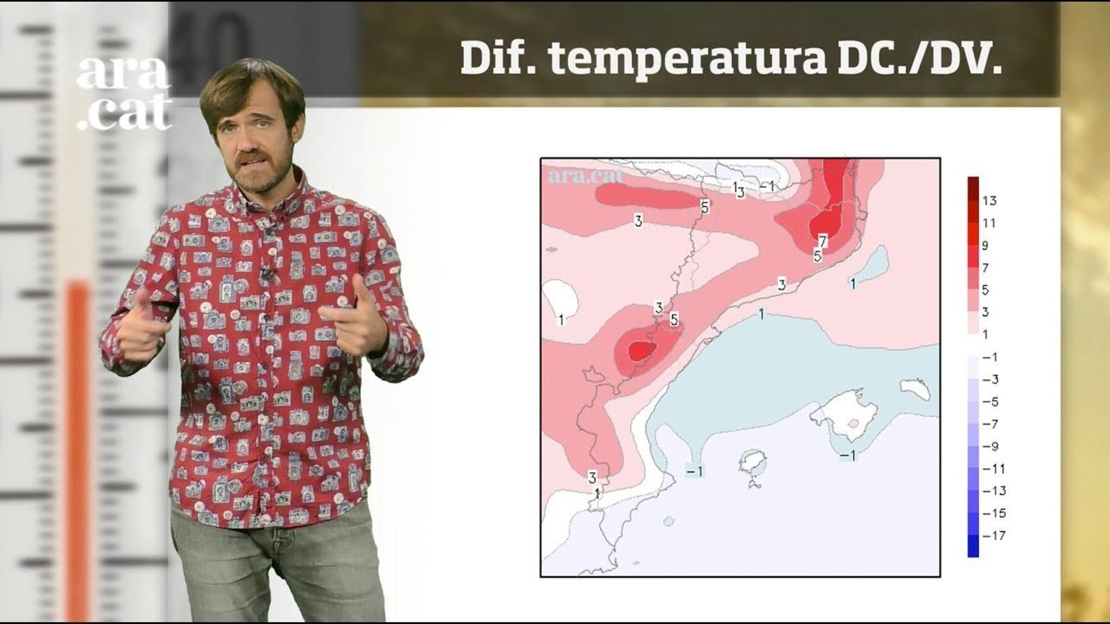 La méteo en 1 minut: torna la calor