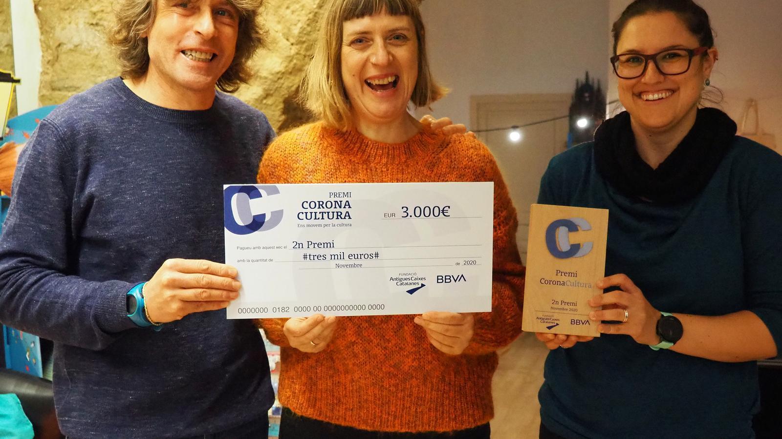 El guanyadors del segon premi, El Genet Blau