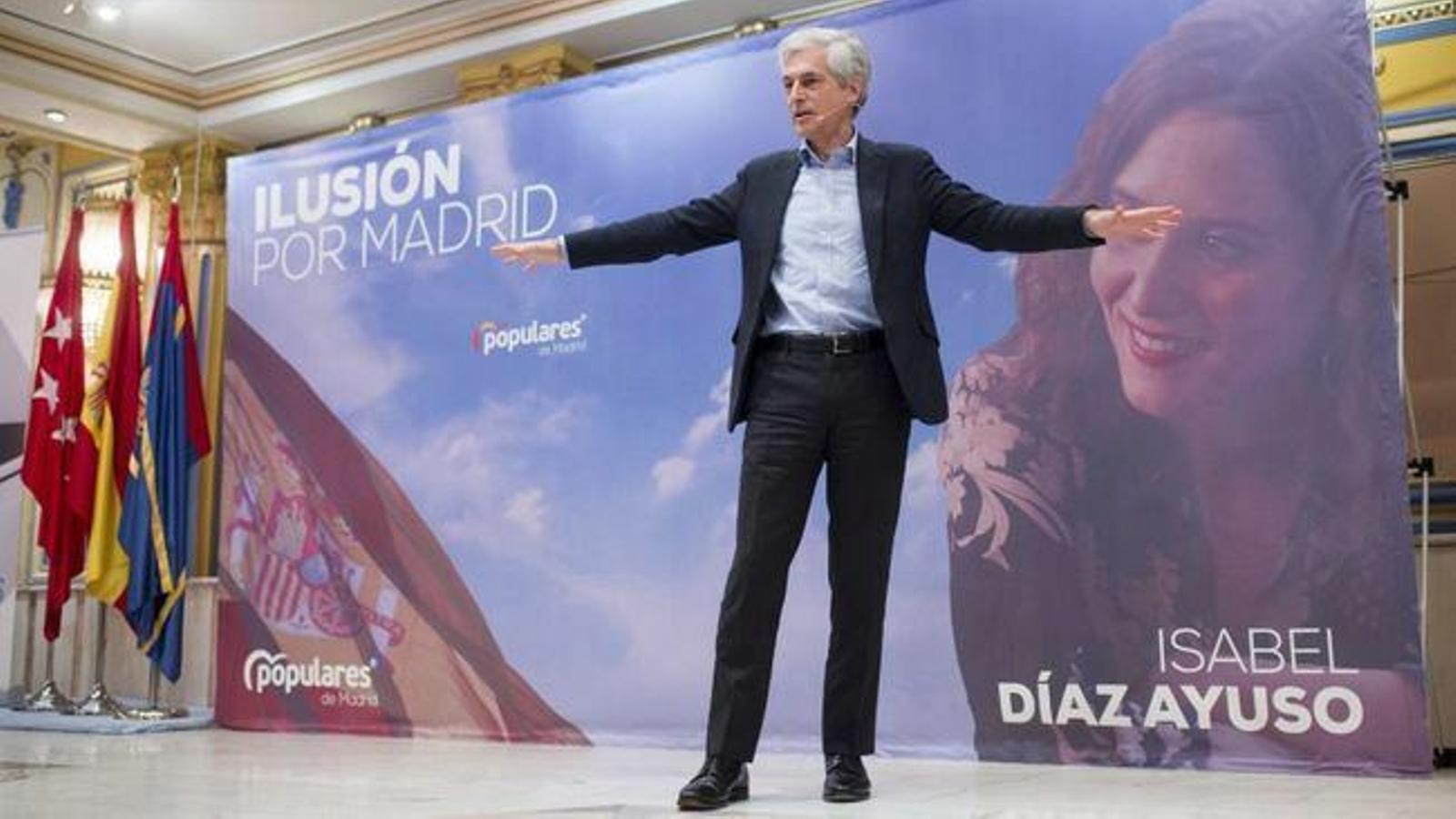 El número dos del PP per Madrid a les eleccions generals, Adolfo Suárez Illana. / PP Madrid.