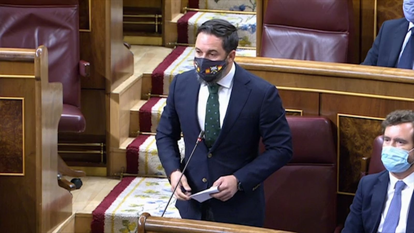 """Abascal afirma que el govern actual és """"el pitjor en 80 anys"""" i Sánchez l'acusa de nostàlgic del franquisme"""