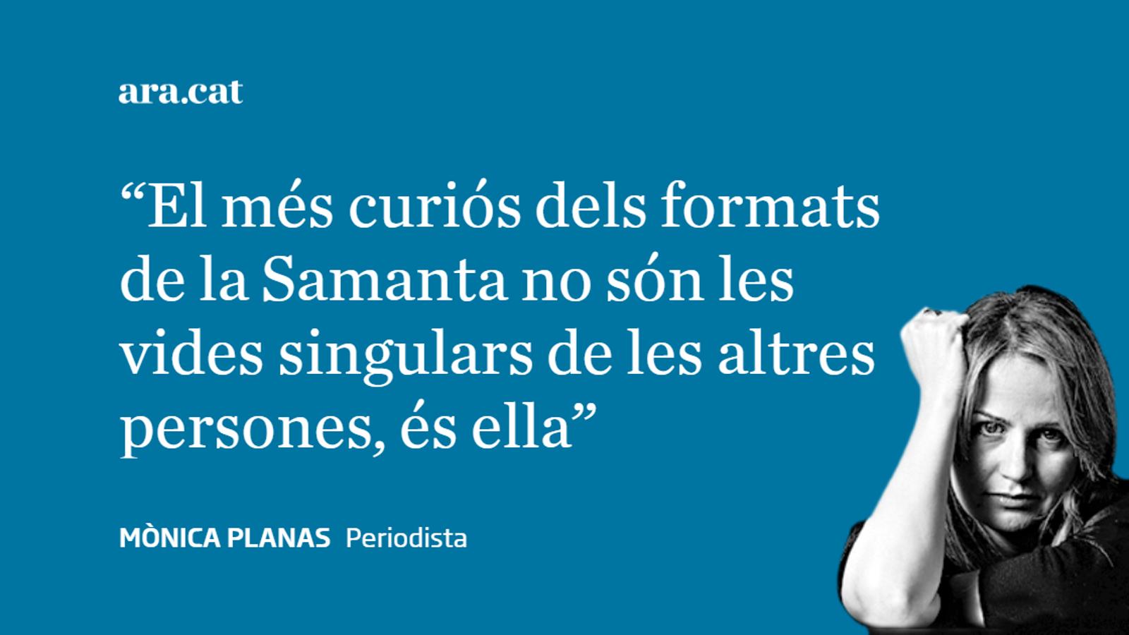 Les lliçons de la Samanta