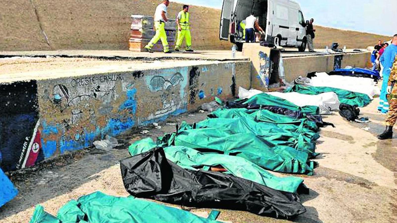 La tragèdia de Lampedusa, vergonya d'Europa