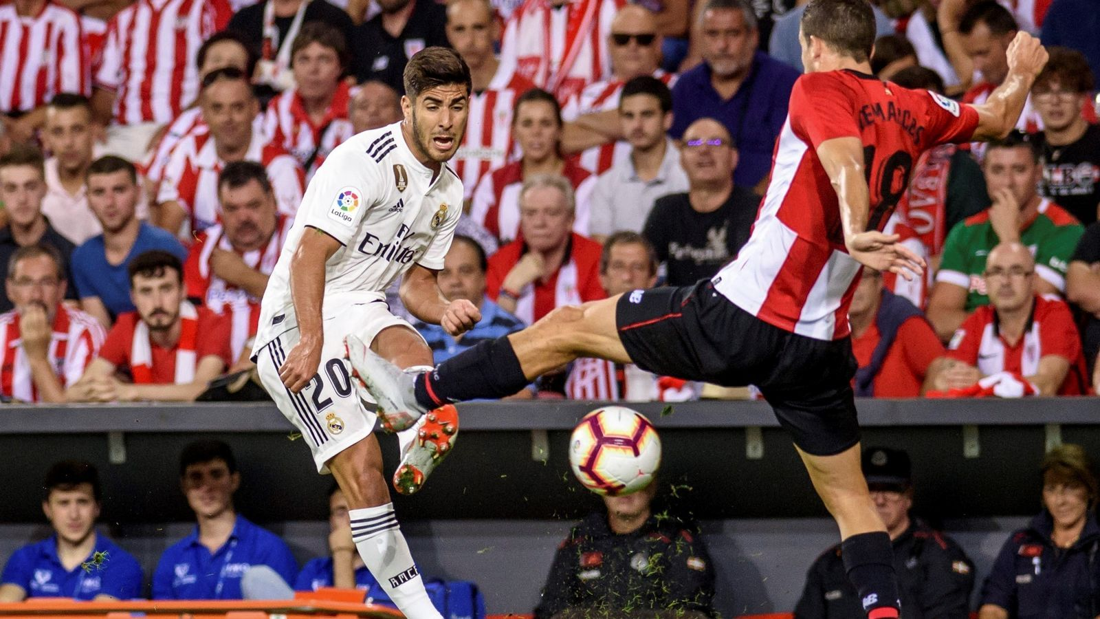 El Madrid no pot passar de l'empat contra l'Athletic a San Mamés (1-1)