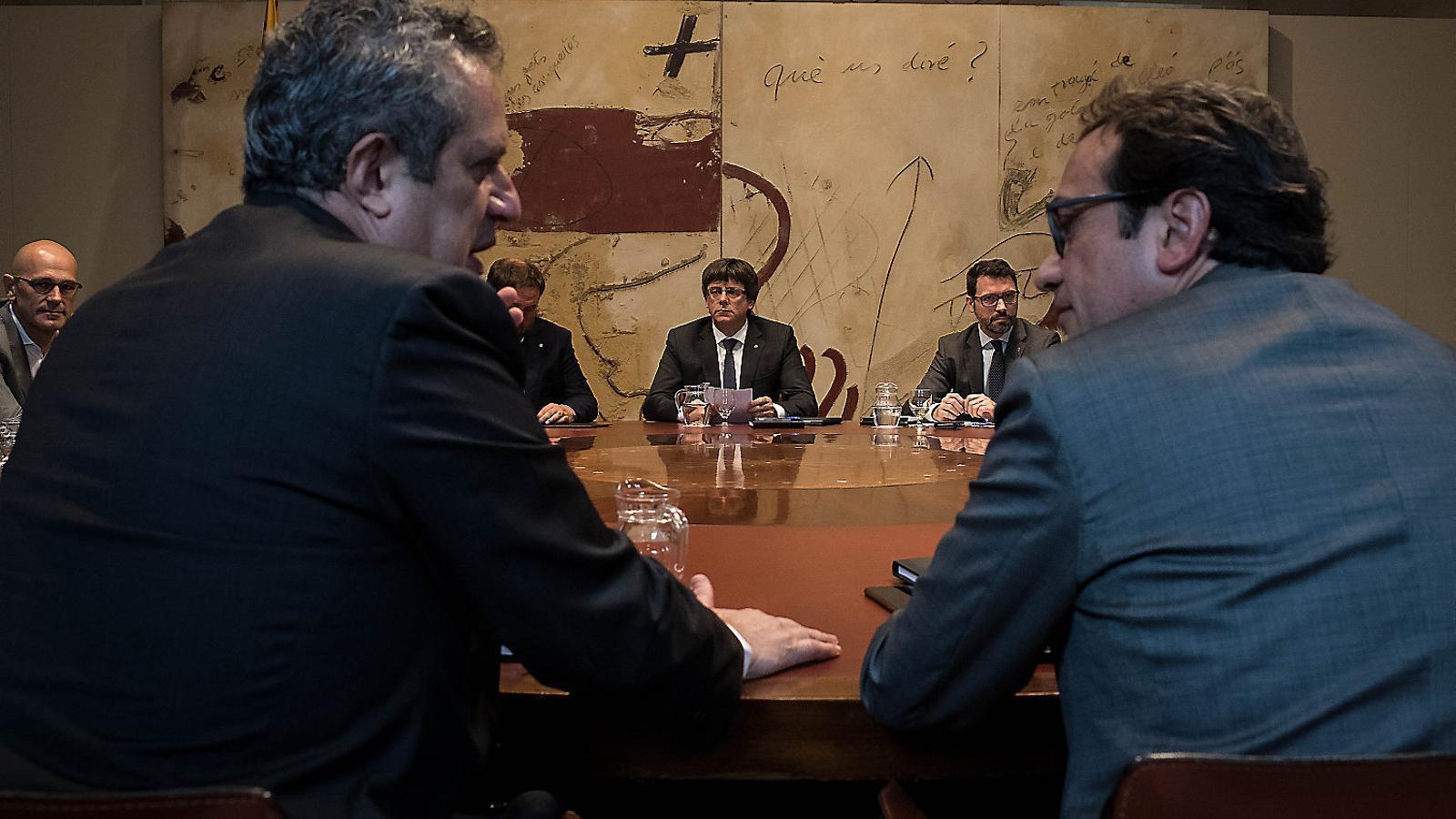 La via Puigdemont: una DUI oberta  a la mediació