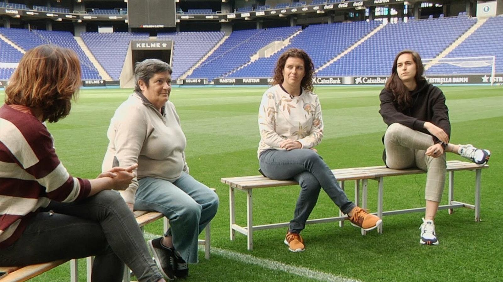 De Sarrià a l'RCDE Stadium: una conversa que repassa 48 anys de futbol femení a l'Espanyol