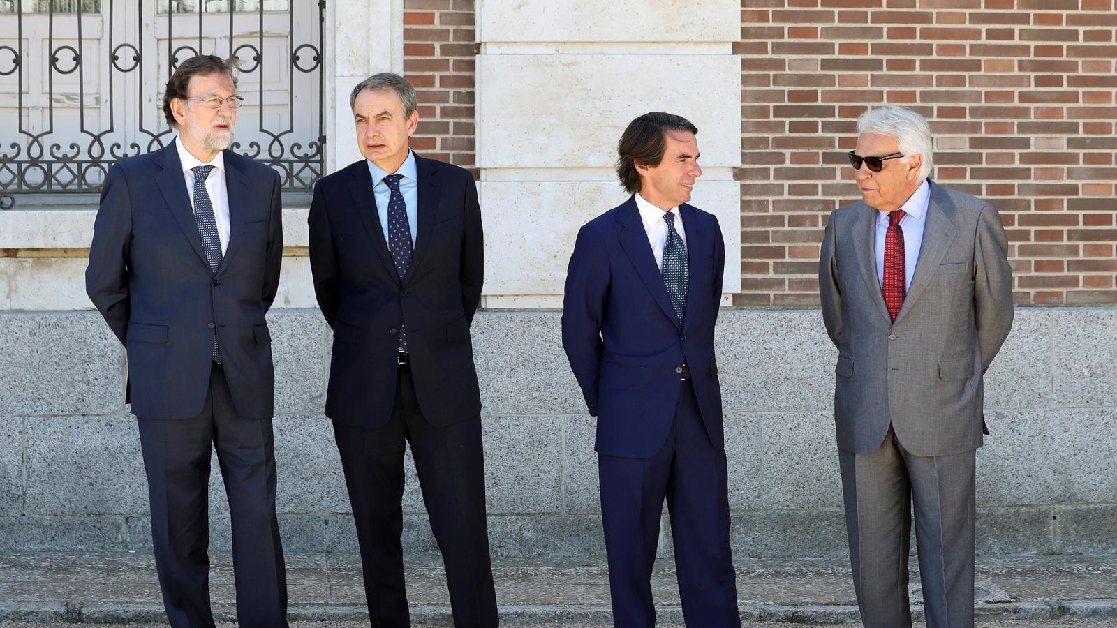 On són els papers dels expresidents espanyols?