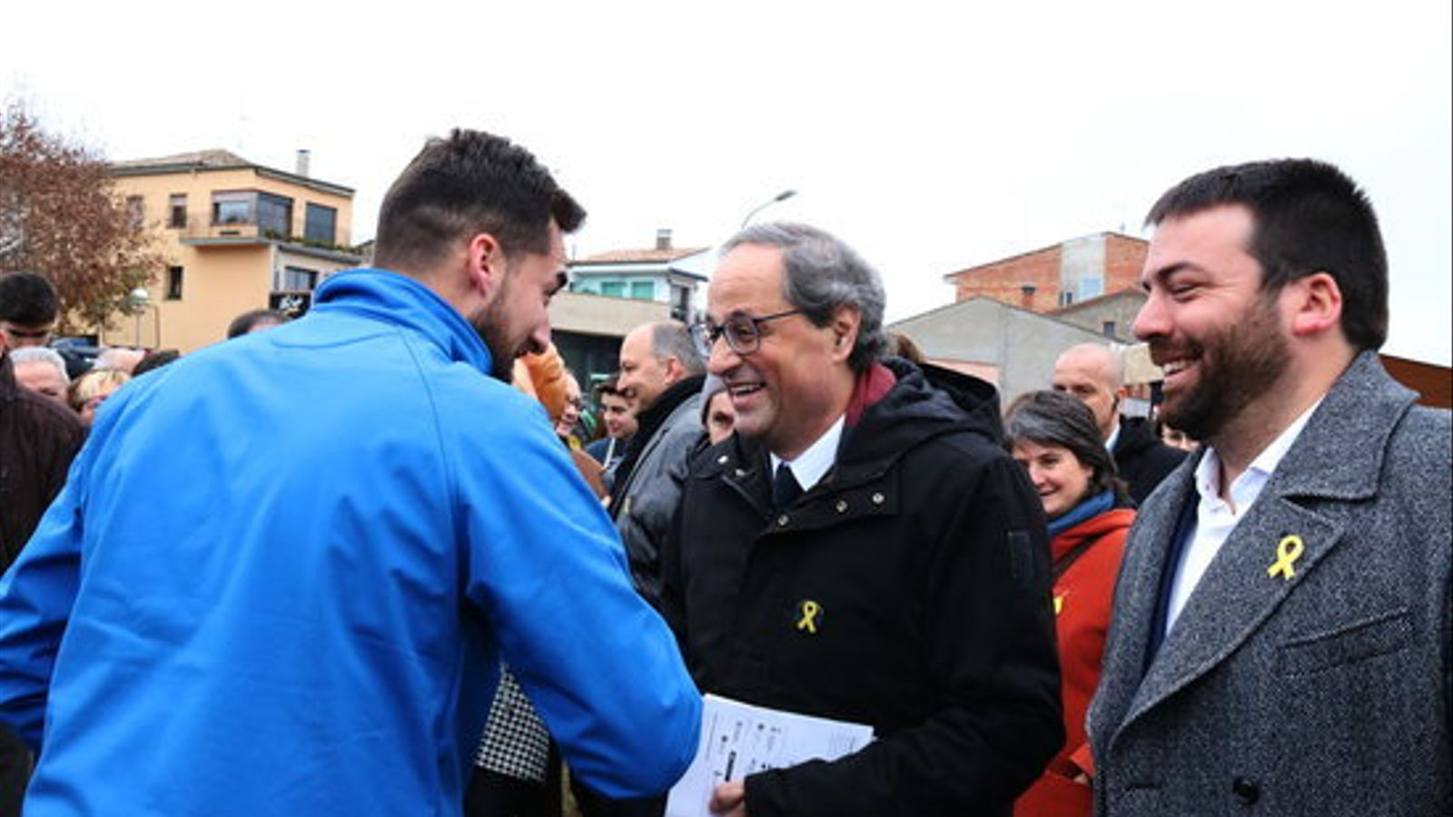 """Torra reclama a Sánchez que """"no es deixi arrossegar per la dreta"""" i abordi el que realment preocupa els catalans"""