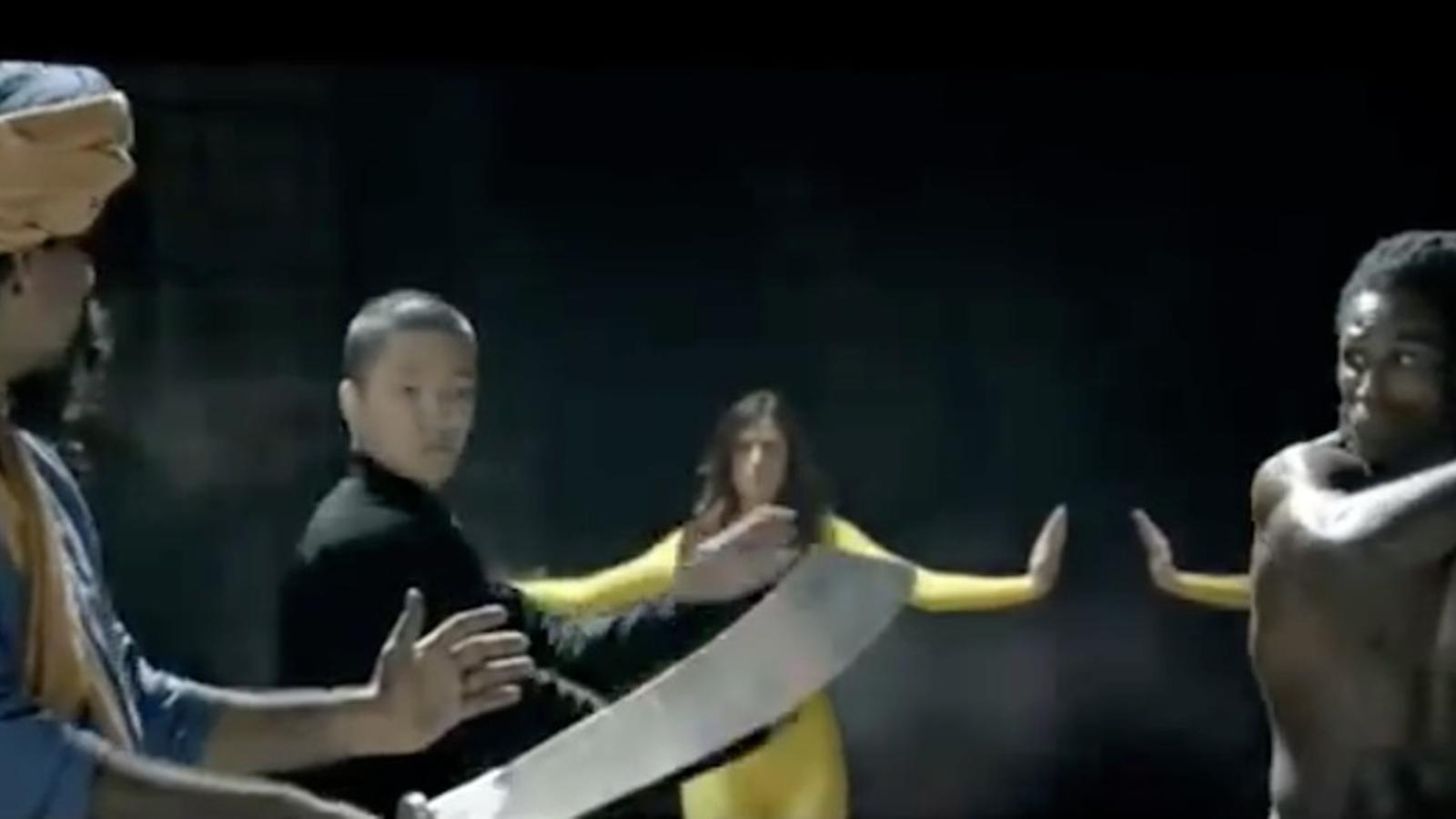 La Kill Bill europea, el vídeo de promoció de la UE que Brussel·les ha retirat per racista