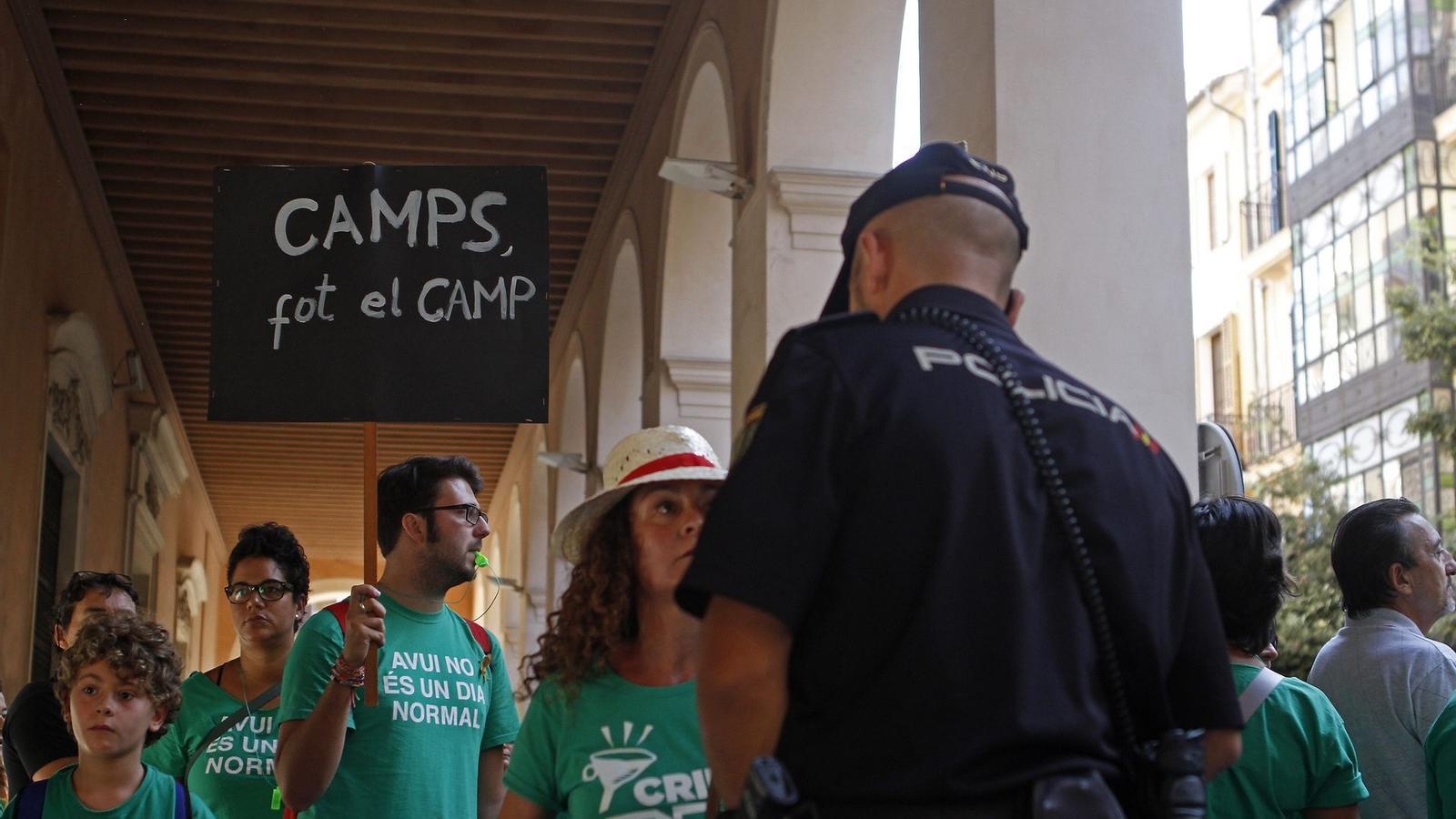 La marea verda és el major exponent dels darrers temps de l'activisme ciutadà.