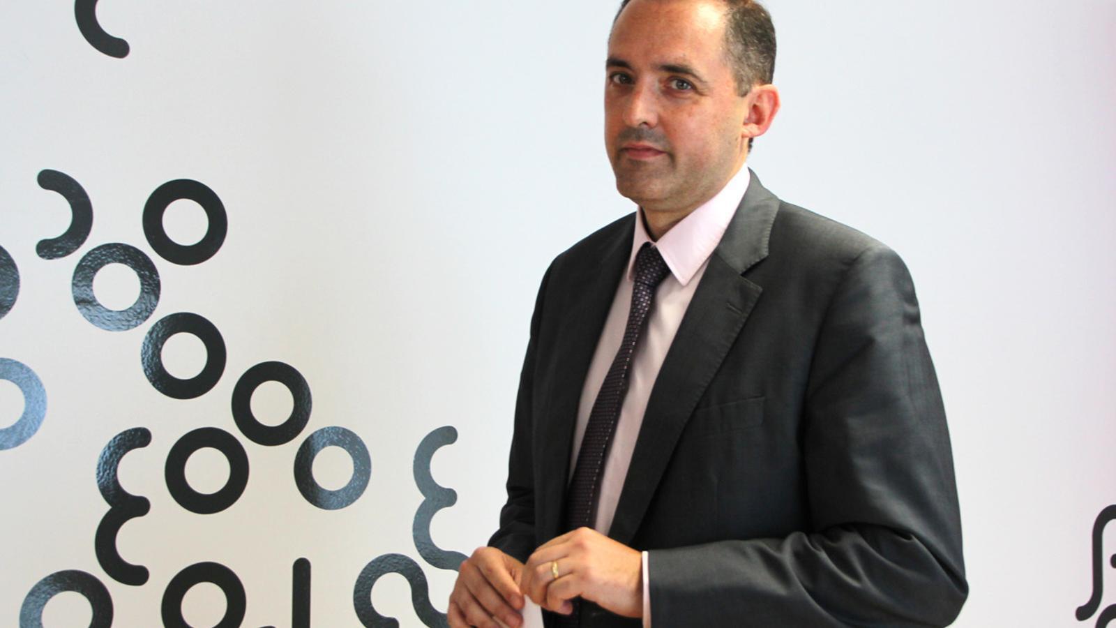 El director general d'Andorra Telecom, Jordi Nadal. / M.T. (ANA)