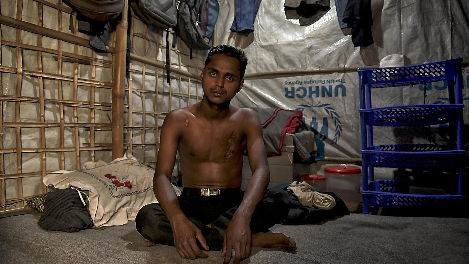 Els rohingyes van filmar el genocidi amb el mòbil