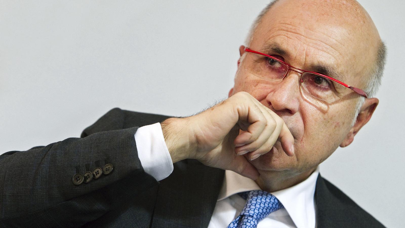 El cap de files de CiU a Madrid, Josep A. Duran i Lleida.