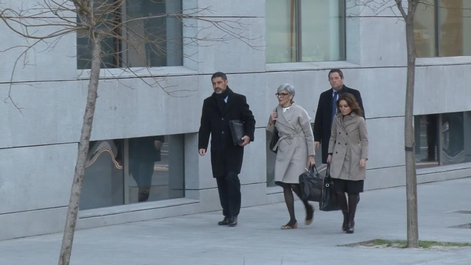 Trapero arriba a l'Audiència Nacional per declarar davant Lamela