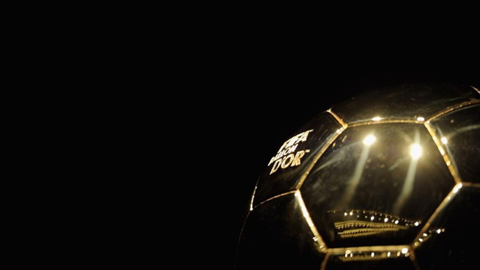El guardó FIFA Pilota d'Or