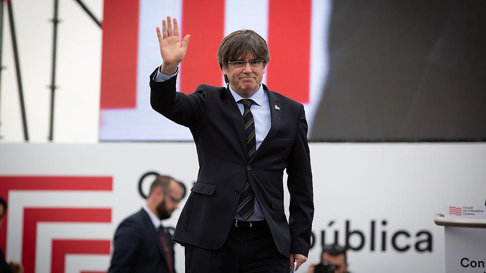 Inici del Congrés de Junts per Catalunya