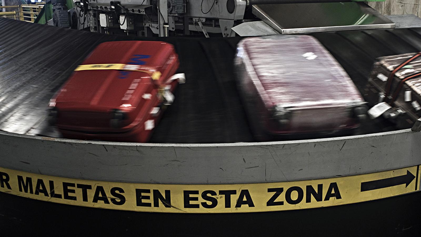 Aquest és el recorregut de les teves maletes a l'aeroport del Prat