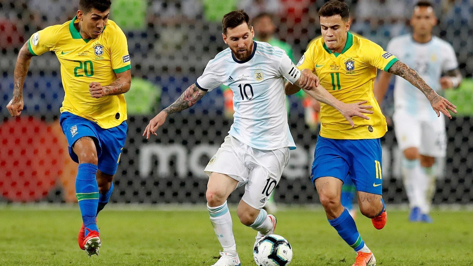 El Brasil elimina l'Argentina (2-0) i es classifica per a la final de la Copa Amèrica