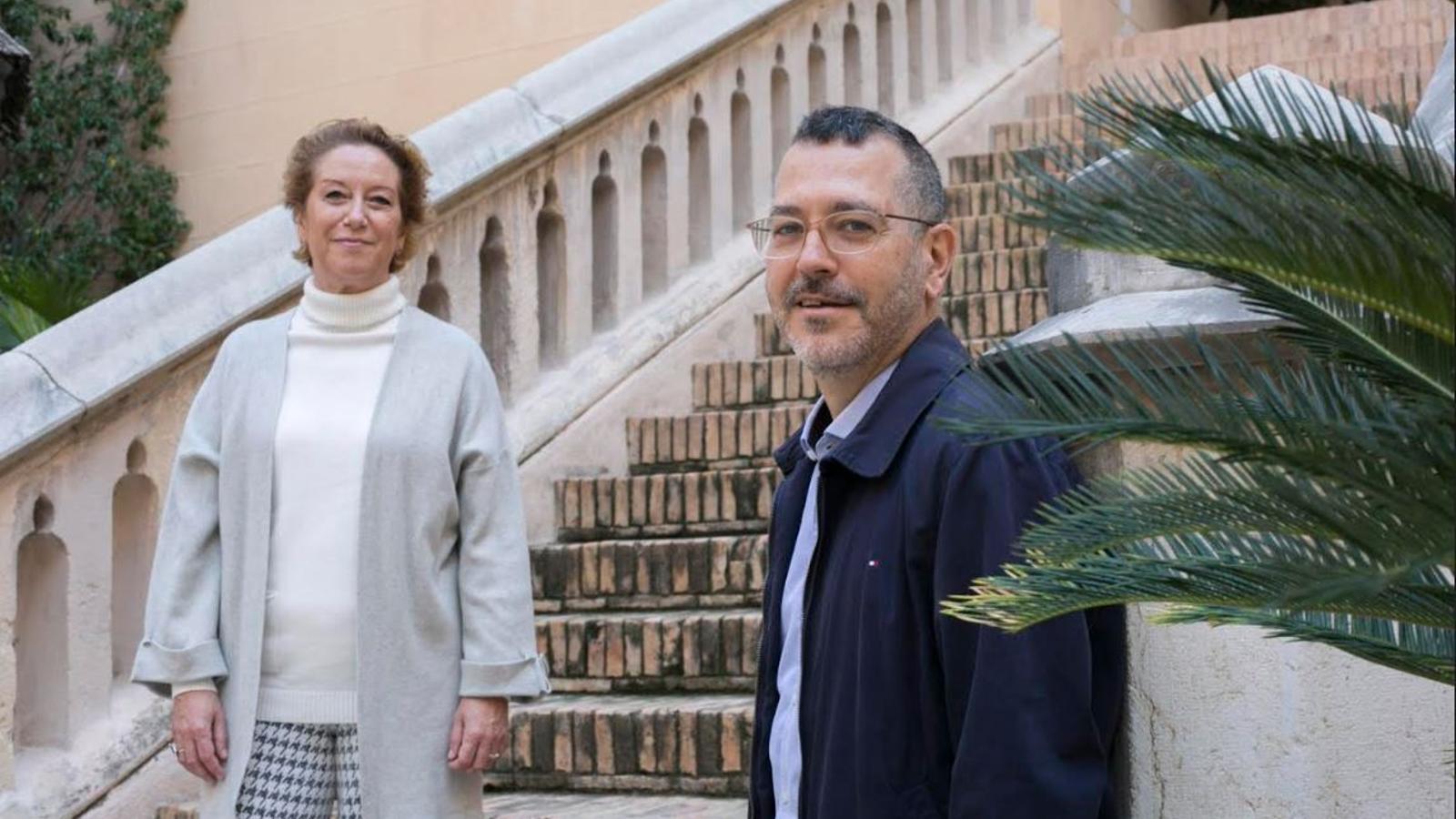 Pepa Aguar i Josep-Anton Fernàndez