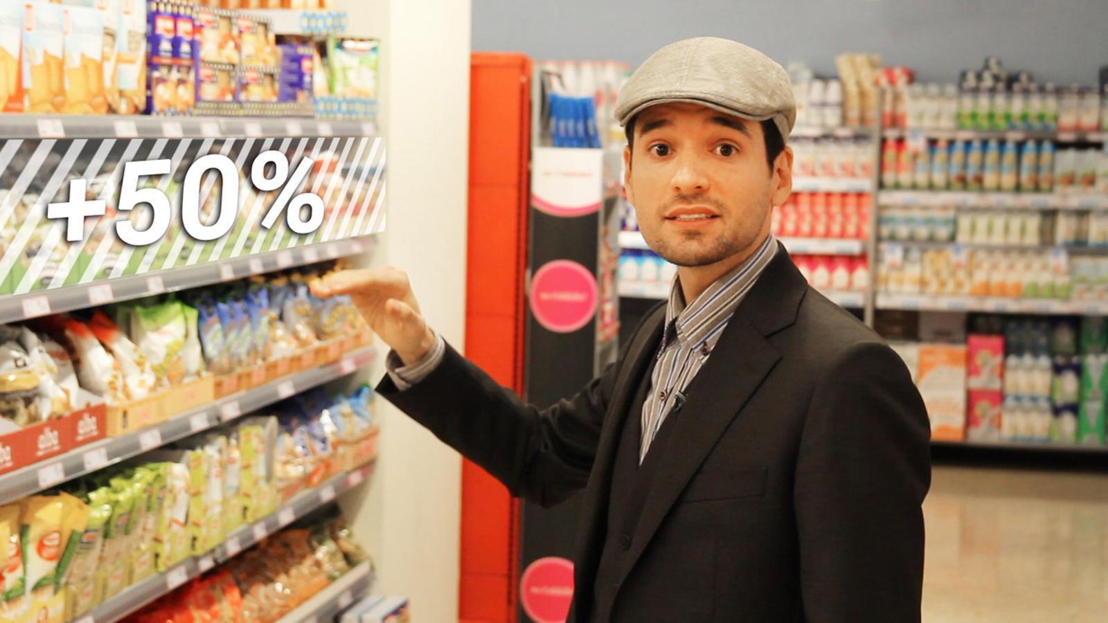 Set trucs de màrqueting que t'ajudaran a estalviar al súper